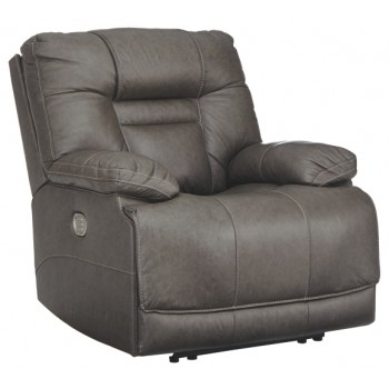 Wurstrow - Smoke - PWR Recliner/ADJ Headrest