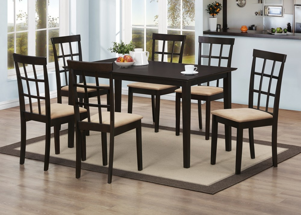 Discount Dining Table 6 Chairs
