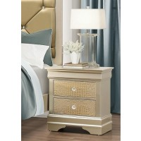 Abel Gold Night Stand
