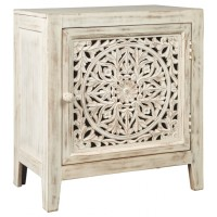 Fossil Ridge - White - Accent Cabinet