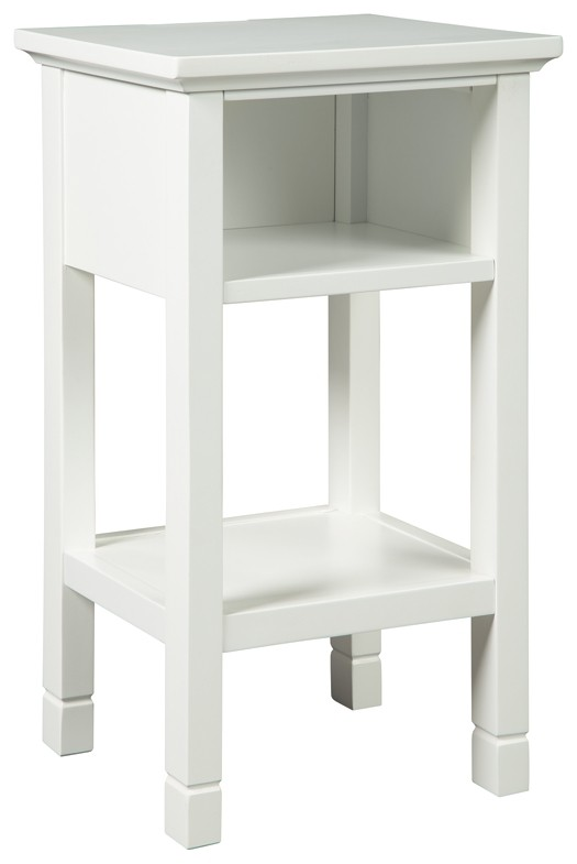 Marnville - White - Accent Table