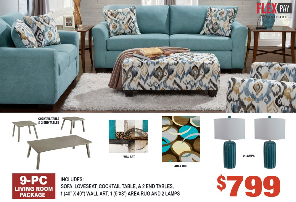Living Room Package 3300
