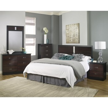 Hurley Collection 4 Piece Bedroom Set