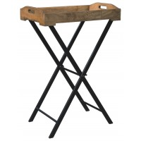 Cadocridge - Brown/Black - Accent Table
