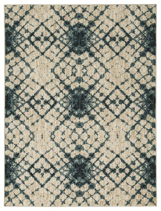 Catheryn - Blue/Ivory - Medium Rug