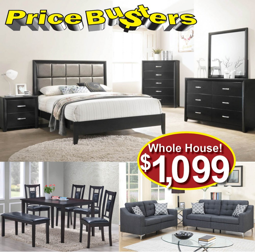 Furniture Store Cheap Prices: Discount Furniture Package #80