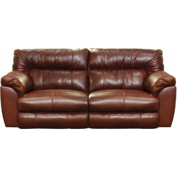 Sensational Milan Walnut Lay Flat Italian Leather Reclining Sofa Creativecarmelina Interior Chair Design Creativecarmelinacom