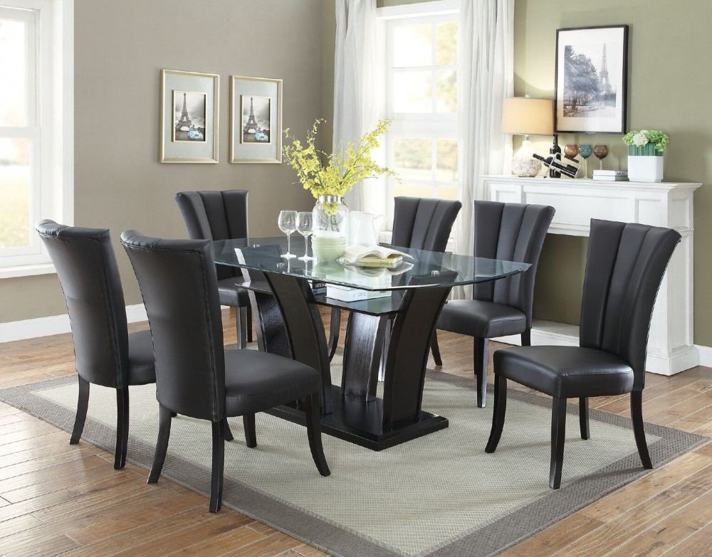 Brooklyn Dining Set 7pcs.  Table + 6 chairs.