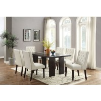Carrie Dining Set 7pcs. Table + 6 chairs
