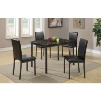 Edie 5-Pcs Dining Set Table + 4 chairs