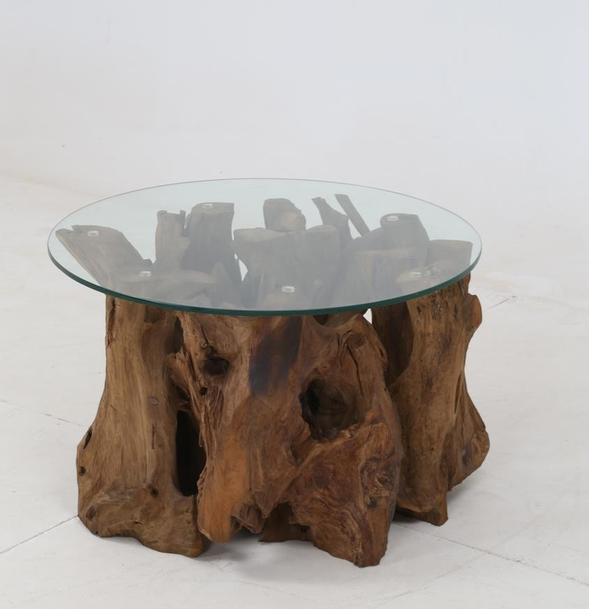 Rustic Teak Root Coffee Table   721668   Cocktail Tables   Price Busters  Furniture
