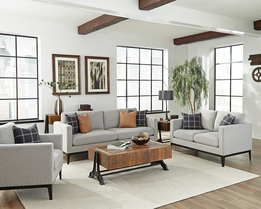 Asherton Modern Grey Sofa