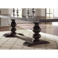 PHELPS COLLECTION - Phelps Traditional Antique Noir Dining Table