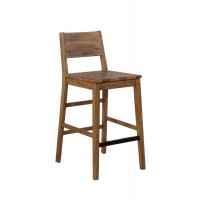TUCSON COLELCTION - Tucson Rustic Varied Natural Bar Stool (Pack of 2)