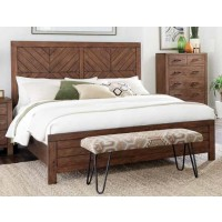 REEVES COLLECTION - Reeves Mojave Brown Eastern King Bed