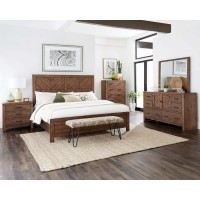 REEVES COLLECTION - Reeves Mojave Brown Nightstand