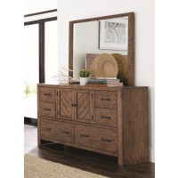 REEVES COLLECTION - Reeves Mojave Brown Dresser