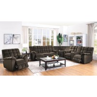 ATMORE MOTION COLLECTION - Atmore Casual Chocolate Motion Sofa