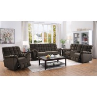 ATMORE MOTION COLLECTION - Atmore Casual Chocolate Motion Loveseat