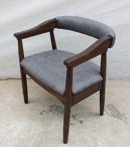Scott Living Modern Craftsman Grey Armchair (Pack Of 2)