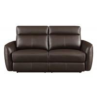 SCRANTON MOTION COLLECTION - Scranton Casual Dark Brown Power^2 Sofa