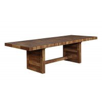 TUCSON COLELCTION - Tucson Rustic Varied Natural Dining Table