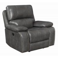 RAVENNA MOTION COLLECTION - Ravenna Casual Charcoal Motion Glider Recliner