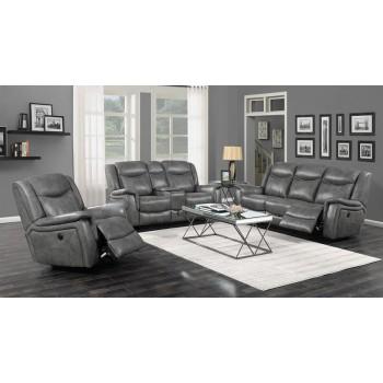 CONRAD MOTION COLLECTION - Conrad Transitional Grey Motion Sofa