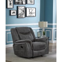 CONRAD MOTION COLLECTION - Conrad Transitional Grey Glider Recliner