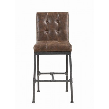 Antique Brown Bar Stool Pack Of 2 182739 Bar Stools