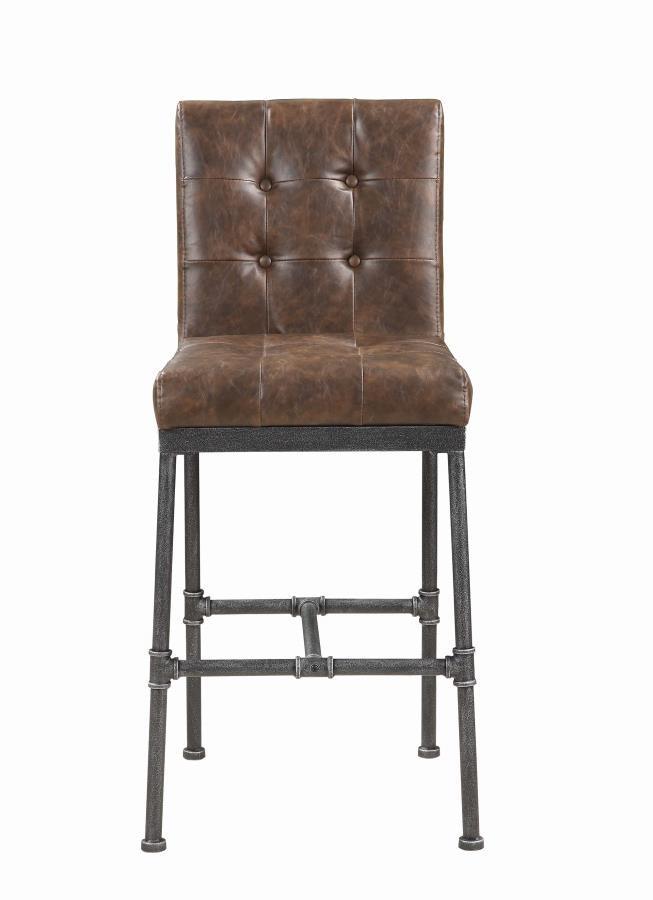 Sensational Antique Brown Bar Stool Pack Of 2 Lamtechconsult Wood Chair Design Ideas Lamtechconsultcom