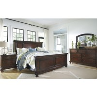 Porter King Panel Bed