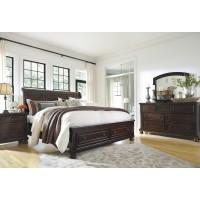 Porter King Storage Bed