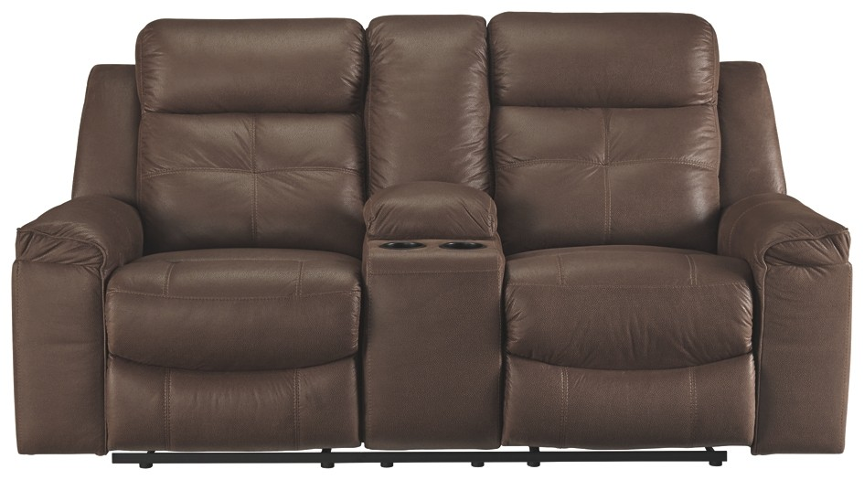 Wondrous Jesolo Coffee Dbl Rec Loveseat W Console Bralicious Painted Fabric Chair Ideas Braliciousco