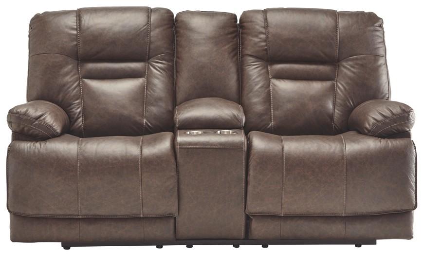 Strange Wurstrow Umber Pwr Rec Loveseat Con Adj Hdrst Inzonedesignstudio Interior Chair Design Inzonedesignstudiocom