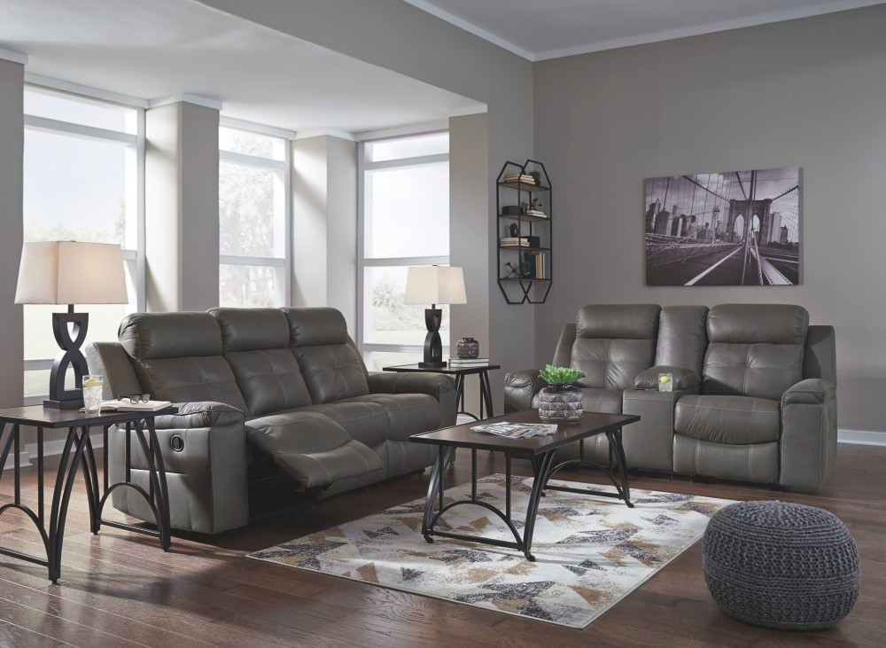 Jesolo - Dark Gray - Reclining Sofa