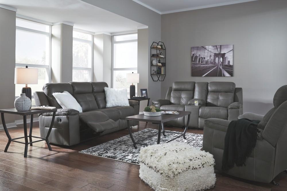 Jesolo - Dark Gray - Reclining Sofa