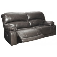 Hallstrung - Gray - 2 Seat Reclining Power Sofa