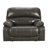 Hallstrung - Gray - Zero Wall Power Wide Recliner