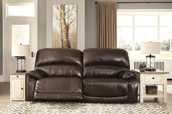 Marvelous Hallstrung Chocolate 2 Seat Reclining Power Sofa Onthecornerstone Fun Painted Chair Ideas Images Onthecornerstoneorg