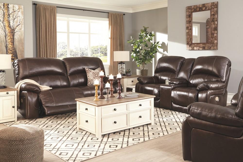 Pleasing Hallstrung Chocolate 2 Seat Reclining Power Sofa Cjindustries Chair Design For Home Cjindustriesco