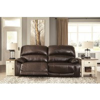 Hallstrung - Chocolate - 2 Seat Reclining Power Sofa