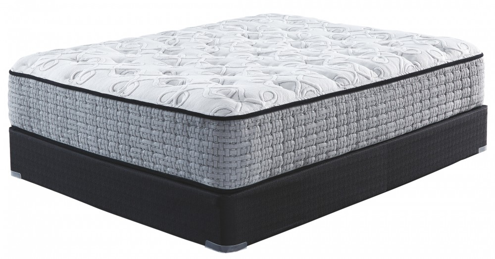 Mt Rogers Ltd Plush - White - Queen Mattress