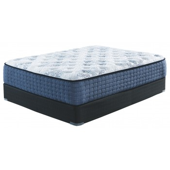 Mt Dana Plush - White - King Mattress
