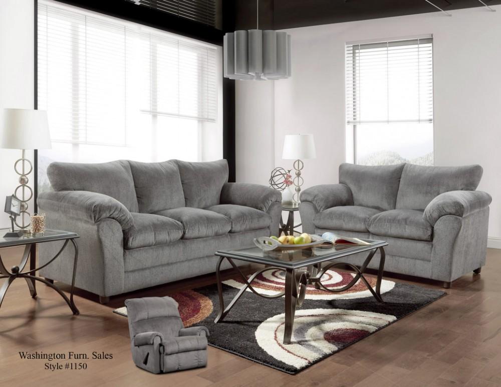 Kelly Gray Sofa