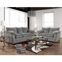Kelly Gray Sofa & Loveseat