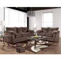 Kelly Chocolate Sofa & Loveseat