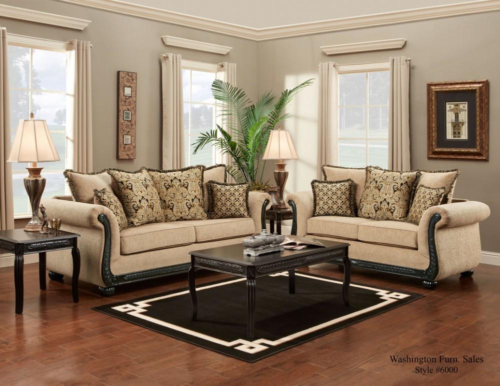 Delray Taupe Sofa
