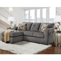 Kelly Gray Sofa Chaise