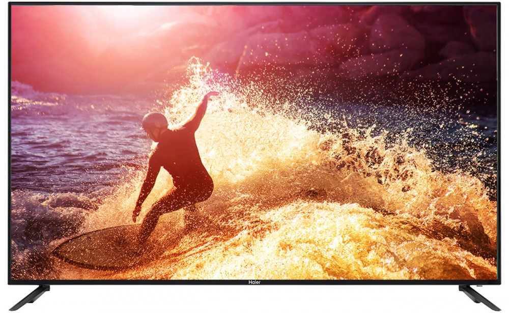 Haier 55' 4K Ultra UD Slim TV